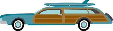 ビーチの周り陽気な楽しい乗車があります。