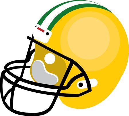 pokrývka hlavy: Odpalování helma je ochranný headgear opotřebovaný těst ve hře. Vyberte si ty design by peklo Ilustrace