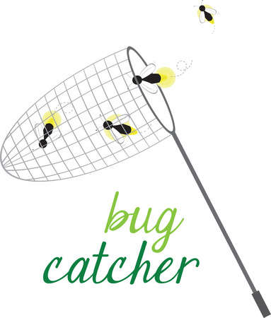 fireflies: Explore your backyard with this toy bug catcher. Use the bug catcher to catch creatures or pretend to catch the bugs it comes with. Fun toy for pretend play.
