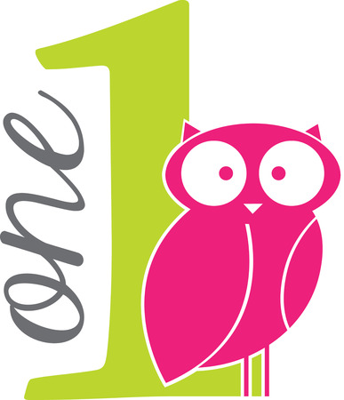 Cute Owl wake the cute owl up and get ready to make some noise   Иллюстрация