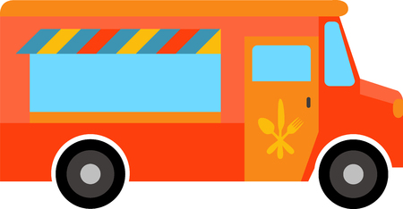 whatever: Whatever youre craving find the trucks to satisfy your appetite. Illustration