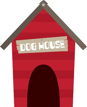 Build a house for your dog and enjoy seeing them happy.