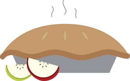pastel de manzana: Trate de no comer este dise�o tarta de manzana Esto parecer�a deliciosa en su proyecto de Acci�n de Gracias.