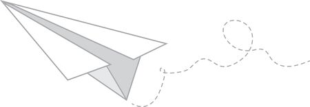 Use this nostalgic paper plane for your favorite educator or inspiration for your favorite graduate.