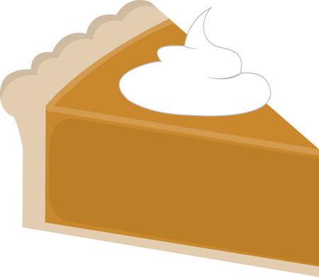 あなたの休日のプロジェクトの感謝祭を祝うためにパイ デザインのこのスライスを使用します。 写真素材 - 41569342