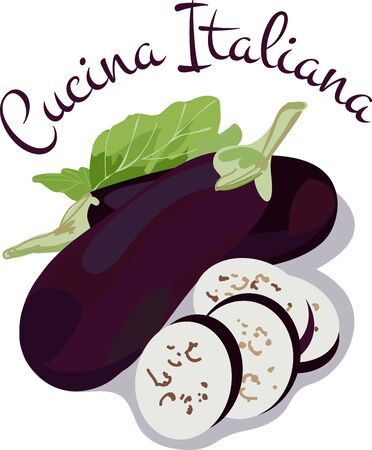tastes: Italian Risotto tastes better with these Fried Eggplants Illustration