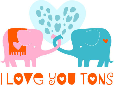pachyderm: Love is in the air share your love with your loved one.