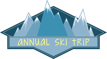 junkie: Skiers will like a great logo to show off their favorite sport.