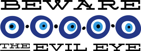 People use this eye patterns for good fortune