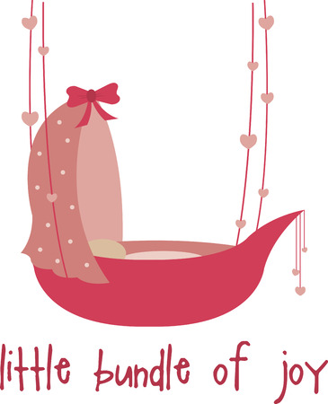 So cute! Cuddle up your little bundle of joy with this design by Embroidery patterns.