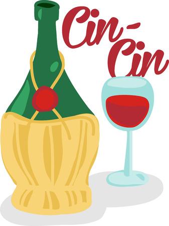 vino: Italian wine lovers drink Chianti.