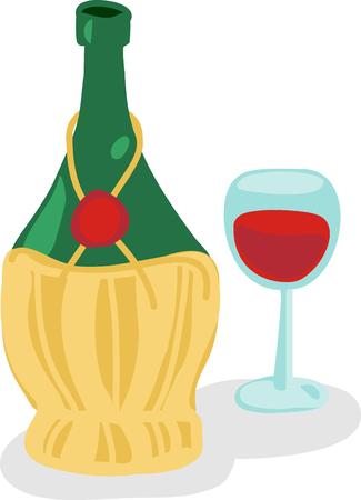 chianti: Italian wine lovers drink Chianti.
