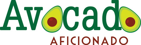 avacado: Avacado design for kitchen decorating and cooking hobbyists.