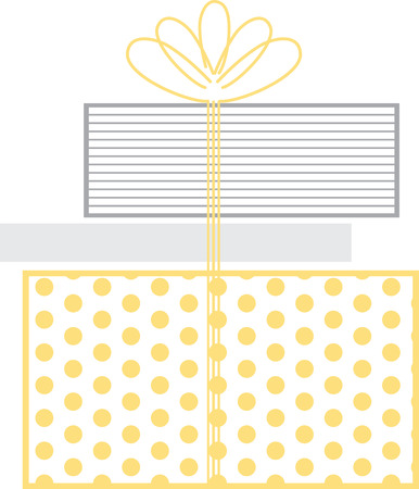 special occasions: Stacked gift boxes tied with a pretty bow for your special occasions.