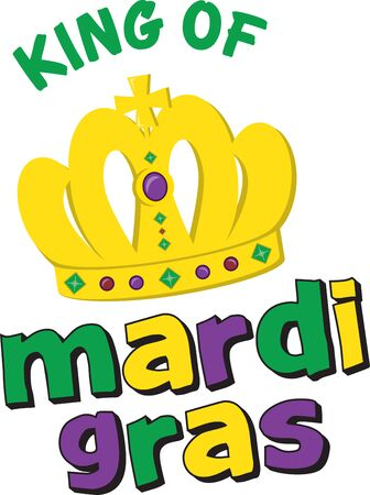 mardi gras: Golden for Mardi Gras crown for festive celebrations.