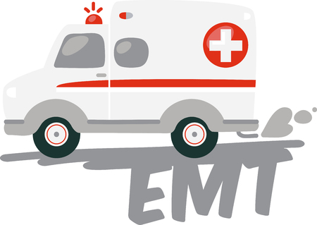 The ambulance is just a convenientfreequick way to get there patient.pick those design by embroidery patterns.