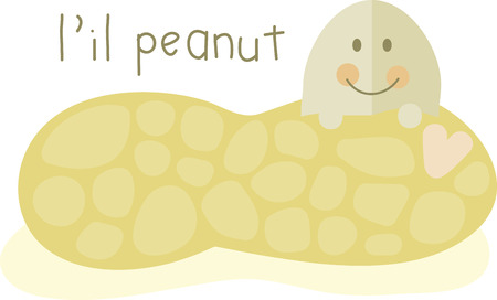 Grab all the healthy benefits from this cute and little peanuts designed by Embroidery patterns!