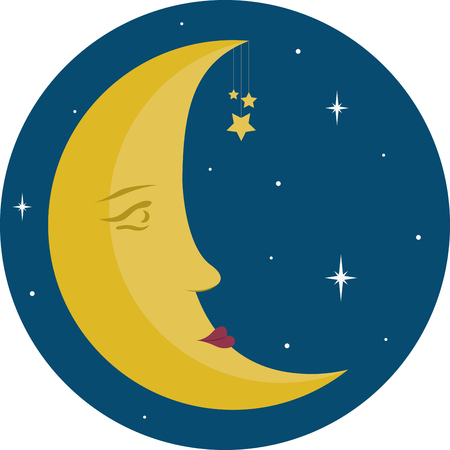 dreary: Oh, man in the moon, send an evening star to wink at my dreary eyes, and I shall make a wish for a peaceful world that spins with no more lies Illustration