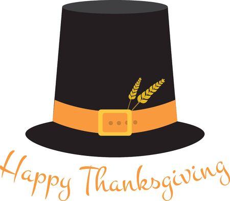 Vier pelgrims deze Thanksgiving met dit pretontwerp.