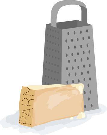parmigiano: Tutto ha un sapore buono con parmigiano su di esso.