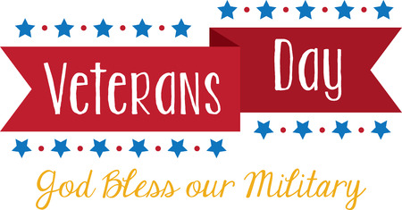 Celebrate Veterans Day with this banner design.