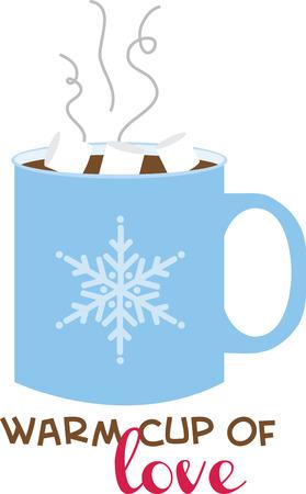 chocolat chaud: Une tasse de chocolat chaud r�chauffera tout projet d'hiver.