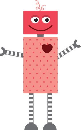 bionico: Geeks potranno apprezzare un grande robot invio di un San Valentino.