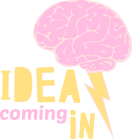 addition: These brain storm designs are a colorful addition to any creation. Illustration