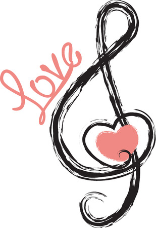 Musicians will love showing off their love for music. Ilustracja