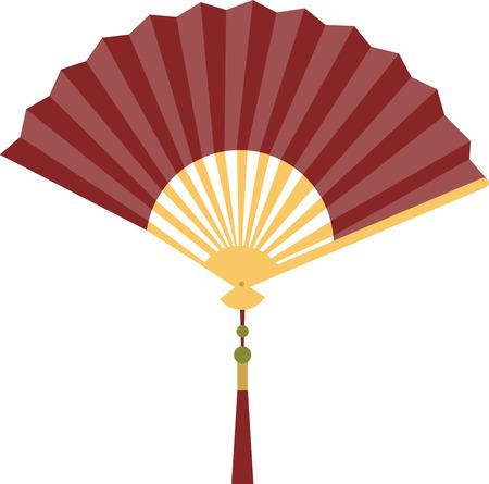 accessoire: Een mooie vouwen ventilator is accessoire een prachtige dame.