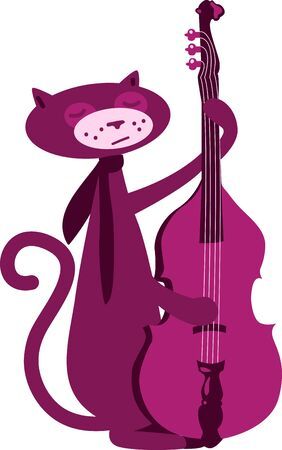 Cute musical animals will look good in a childs room.