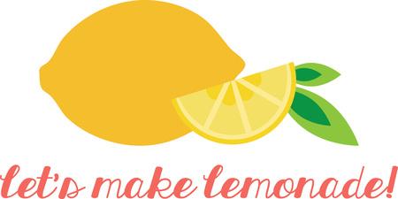 A juicy lemon will make a lovely kitchen decoration.