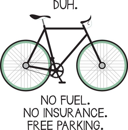 duh: Bike riders will like a bicycle theme project.