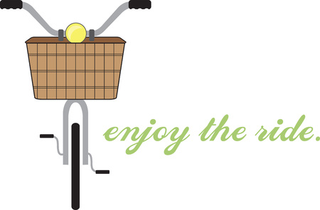 Bike riders will like a bicycle theme project.