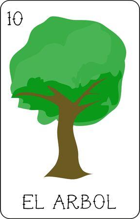 우리의 다채로운 로또 리 카드 모음에는 모든 유명한 캐릭터의 전체 컬렉션이 있습니다. 이것은 우아한 나무 인 엘 아르 볼 (El Arbol)을 특징으로