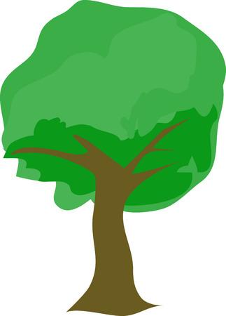 Dit is een mooie schaduwrijke boom ontwerp dat zeker is om de grootsheid van de natuur op uw borduurwerk project te brengen.