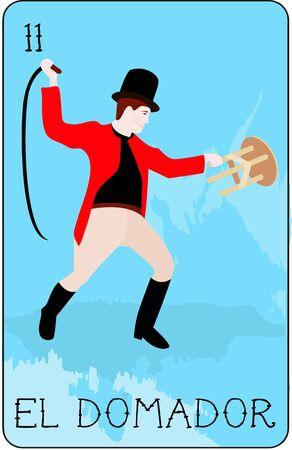 우리의 다채로운 로또 리 카드 모음에는 모든 유명한 캐릭터의 전체 컬렉션이 있습니다. 이것은 용감한 연예인 인 엘 도마 돌을 특징으로하는 카드 11