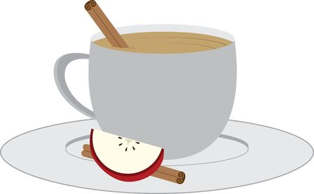cider: Use this warm mug of cider for your next fall project.