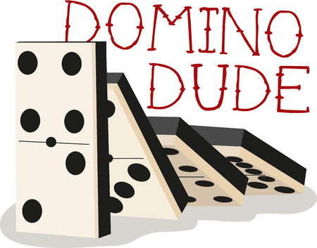 Game players will like to have a great set of dominos. 版權商用圖片 - 42409111