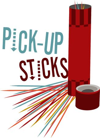Game players will like to have a great set of pick up sticks.