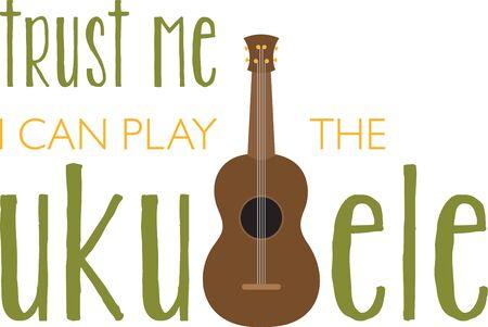 rockstar: Music lovers will enjoy a ukuele project.