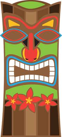 Spice up a summer time project with a tiki design.