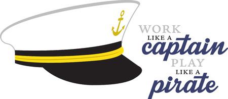 Wees de kapitein van uw schip. Stockfoto - 42408854