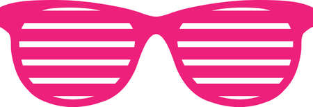Ladies would love this cool pink design on their clothing or fashion accessories.