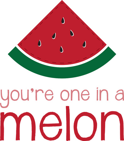 quench: Quench your thirst with a slice of these juicy melons! Use this juicy design for your summer project. Illustration