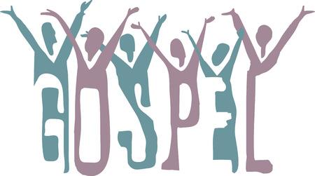 9 102 gospel stock illustrations cliparts and royalty free gospel rh 123rf com clipart gospel music gospel clip art free