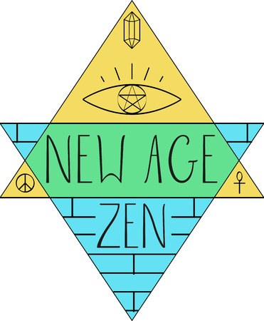 new age: New Age words and symbols for music fans.