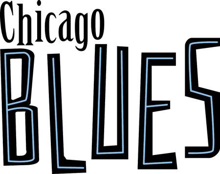 ブルース シカゴ音楽ファンのための単語。
