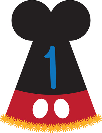 mickey: Make your kids feel special! They would love this design on their party outfit.