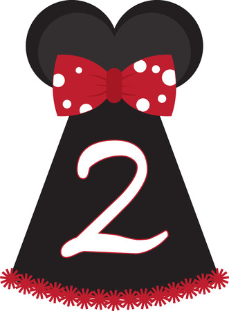 minnie mouse: Make your kids feel special! They would love this design on their party outfit.